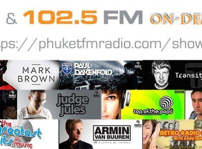 On Demand Radio Shows 91.5 FM and 102.5 FM