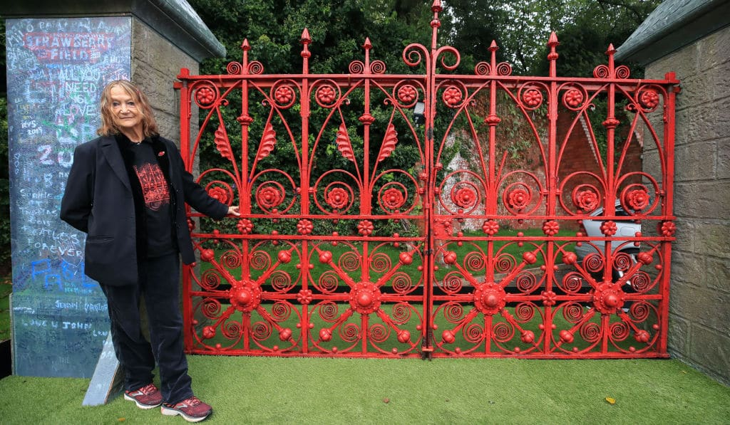 Strawberry Field opens to the public