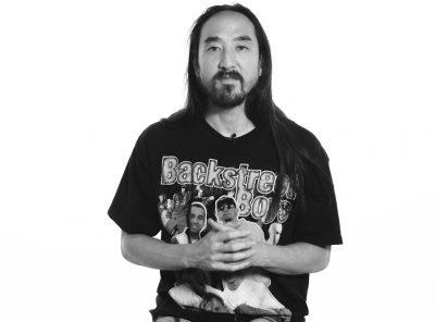 Steve Aoki, DJ-producer, surfer and now Author
