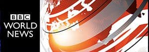 BBC News banner for Phuket FM Radio