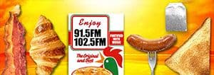 The Breakfast Show banner on Phuket FM Radio