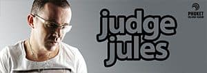 91.5 FM and 102.5 Phuket Radio banner with DJ Judge Jules