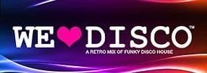 Phuket Island radio show banner for We Love Disco