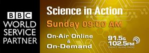 BBC Science in Action Phuket FM Radio banner