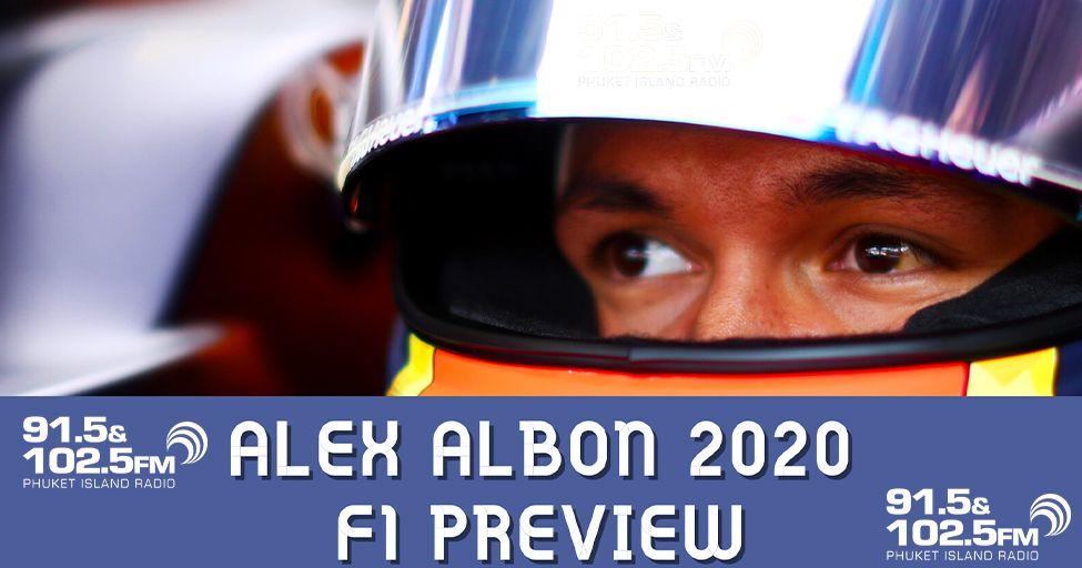 Alex Albon 2020