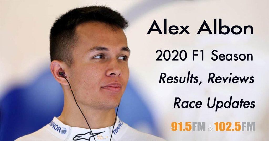 Alexander Albon Thai F1 Driver