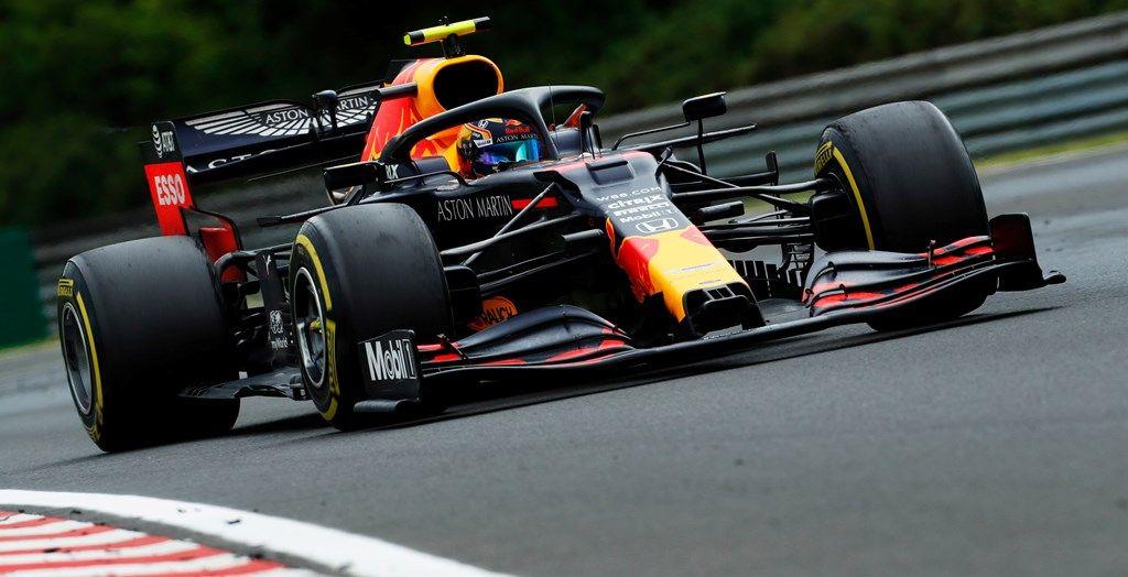 Alex Albon 2020 Hungary GP