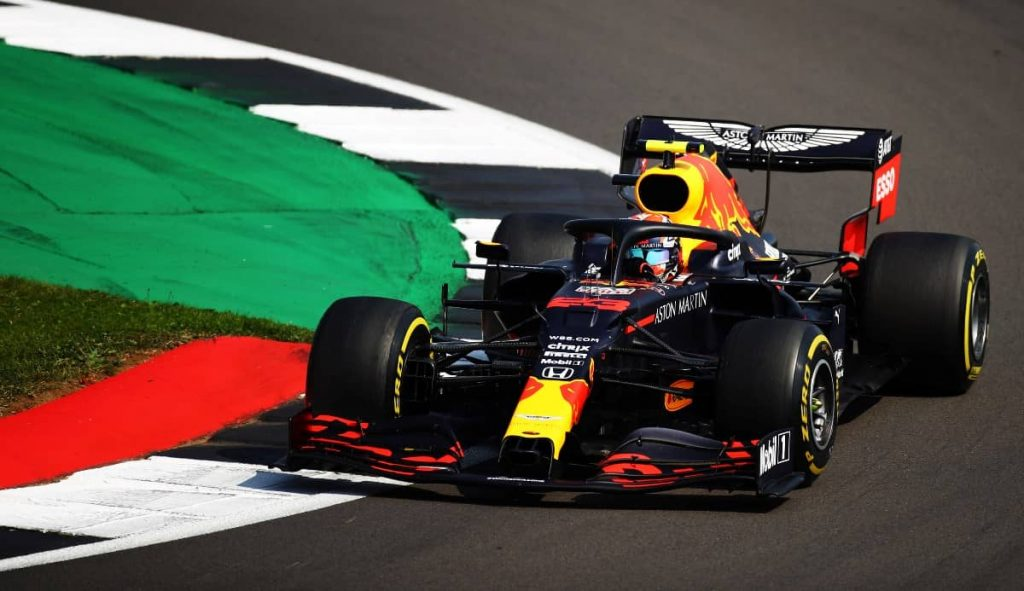 Alexander Albon F1 70th Anniversary Grand Prix at Silverstone