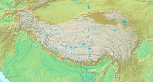 Topografic map of Tibetan Plateau 300x161 1