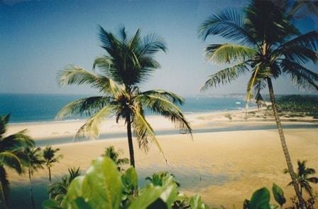Electronic Dance Music in Goa Querim beach Goa India