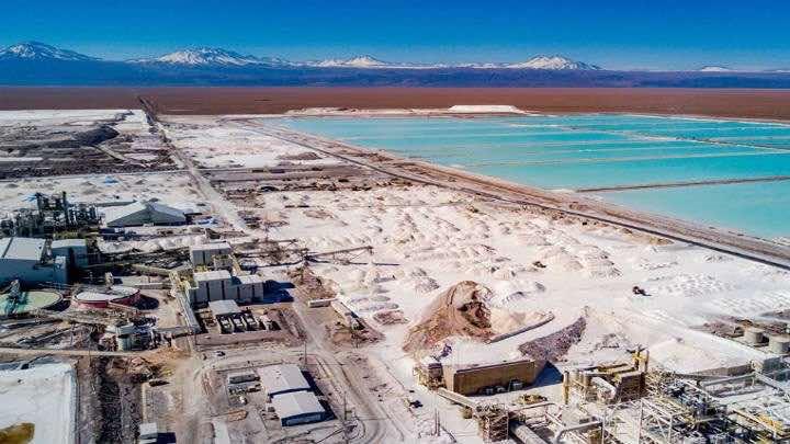 La Sociedad Quimica y Minera de Chile