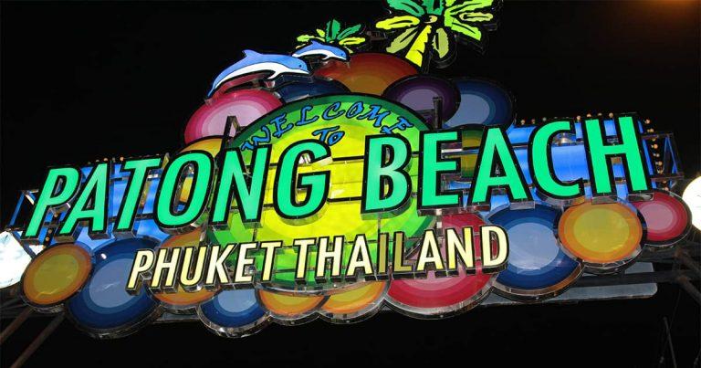 Patong Beach – vibrant – people watcher paradise