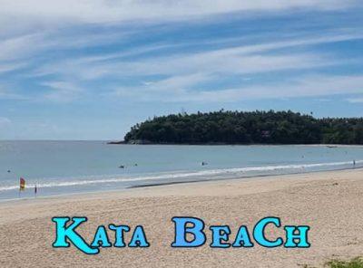 Kata Beach popular Phuket West Coast Beach