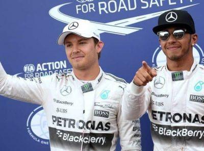 Lewis Hamilton Gets Pole.