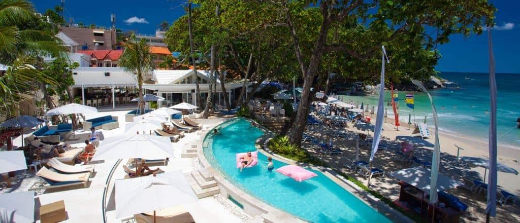 Re Kata Beach Club pool view