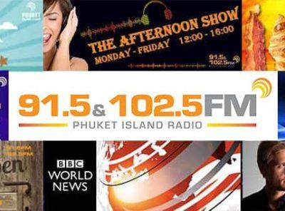 Phuket Radio Shows - On-Air, Online & On-Demand