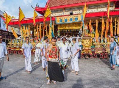 Vegetarian Festival in Phuket has started