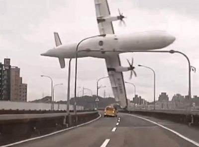 Taipei Plane crash