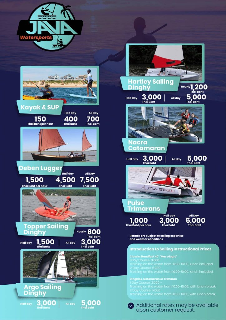 Java Yachting watersports