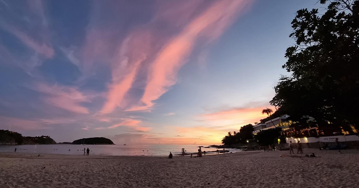 Mid-week weather in Phuket