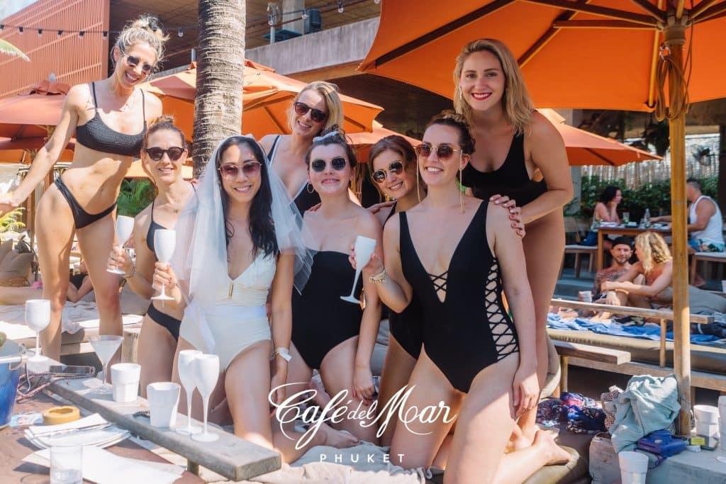 Phuket Beach Clubs Cafe Del Mar