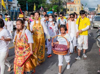 Vegetarian Festival Monday in Phuket Town